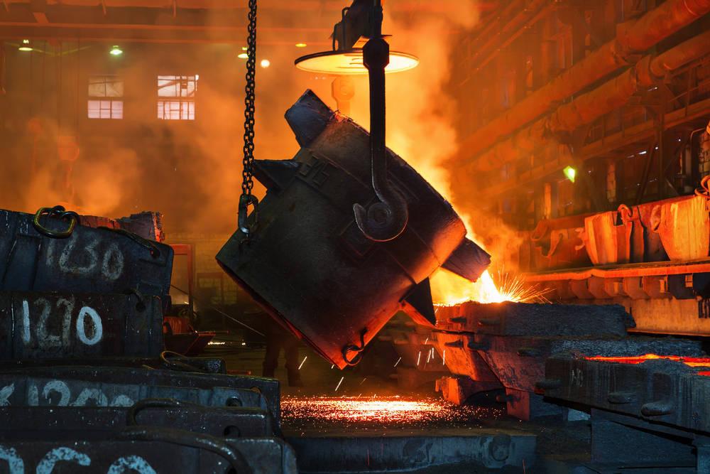 Vigilancia y seguridad para los hornos del metal